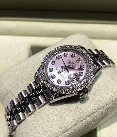 Pearl ladies Datejust Rolex