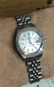 Datejust ladies Rolex vintage diamond