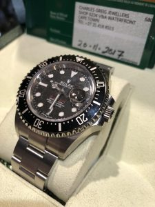 Special edition diver mens Rolex Oyster Perpetual Date Rolex